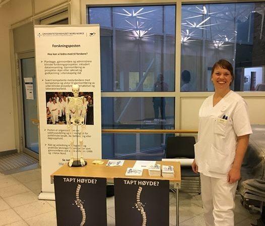 Verdens Osteoporosedag var 20.oktober Tromsø