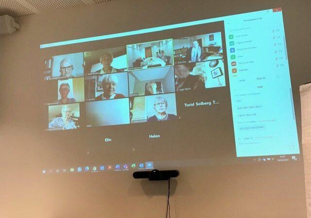 Landsmøtet i Norsk Osteoporoseforbund 16. mars 2021- et vellykket møte på den digitale plattformen Zoom.